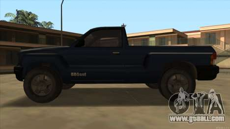 Bobcat HD from GTA 3 for GTA San Andreas back left view