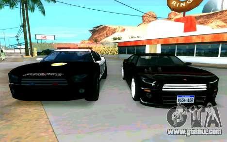 Police Buffalo GTA V for GTA San Andreas right view