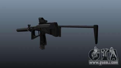 Submachine gun pp-2000 v1 for GTA 4 second screenshot