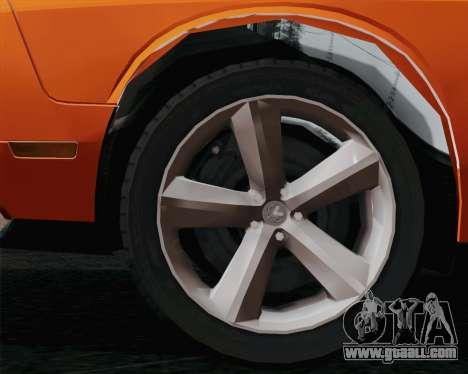 Dodge Challenger SRT-8 2010 for GTA San Andreas left view