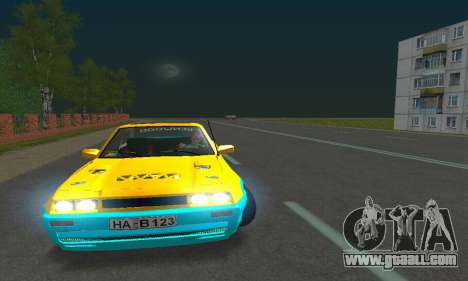 Opel Manta Mattig Extreme for GTA San Andreas inner view