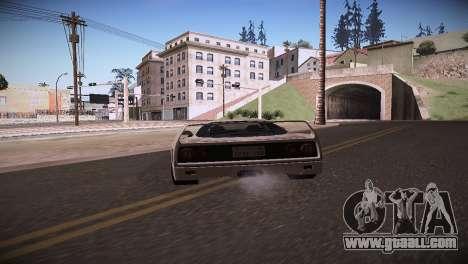 Ferrari F40 for GTA San Andreas left view