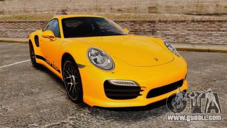 Porsche 911 Turbo 2014 [EPM] Turbo Side Stripes for GTA 4