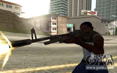 M60E4 for GTA San Andreas