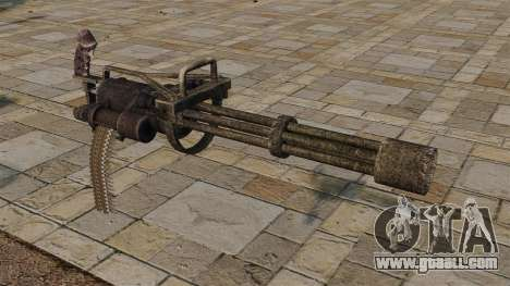 Minigun for GTA 4