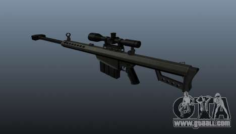 Barrett M82A1 sniper rifle for GTA 4 second screenshot