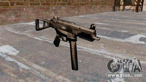 HK UMP submachine gun for GTA 4