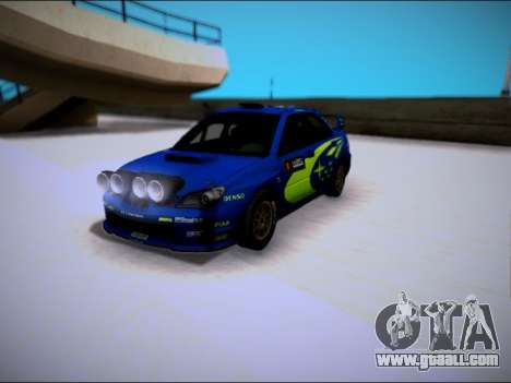 Subaru Impreza WRX STI WRC for GTA San Andreas