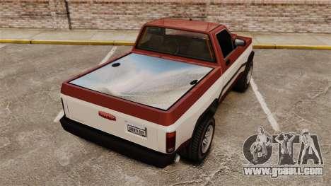 Declasse Rancher 1998 v2.0 for GTA 4 back left view
