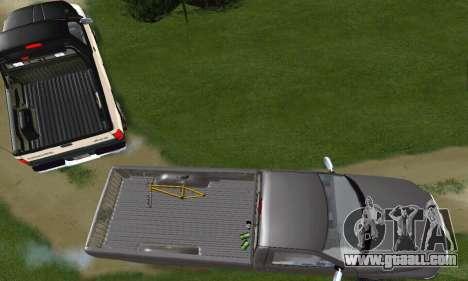 Dodge Ram 2500 for GTA San Andreas inner view