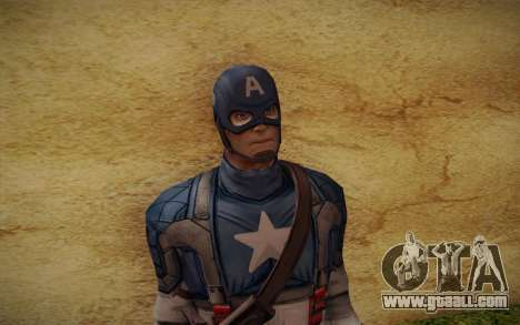 Captain America: First Avenger for GTA San Andreas third screenshot