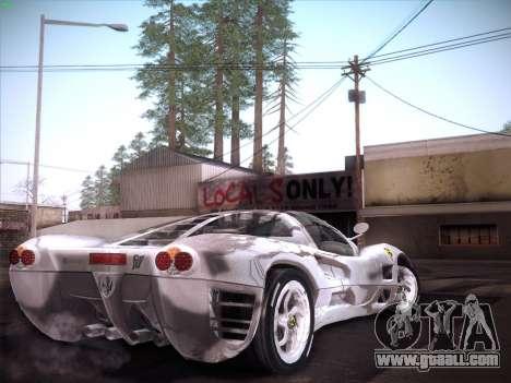 Ferrari P7 Chromo for GTA San Andreas left view