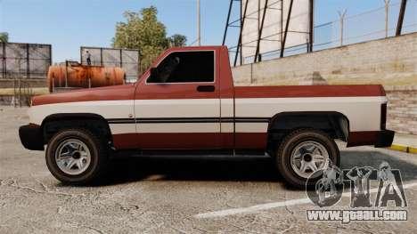 Declasse Rancher 1998 v2.0 for GTA 4 left view