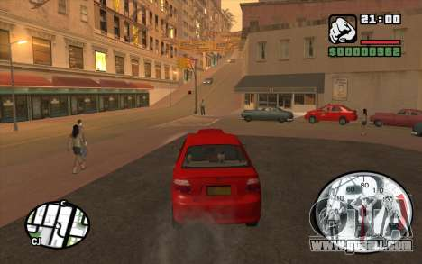 Speedometr da Rockstar for GTA San Andreas third screenshot
