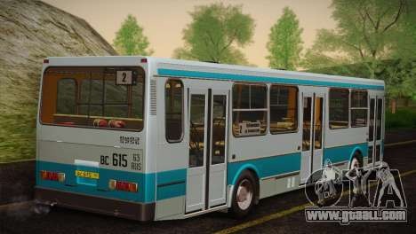 LIAZ 5256.00 Skins Pack 4 for GTA San Andreas back view