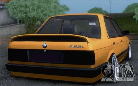 BMW E30 325i for GTA San Andreas left view