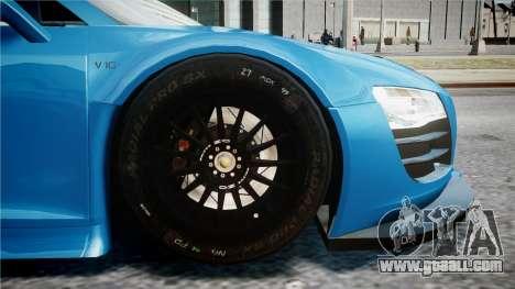 Audi R8 LMS for GTA 4 back left view