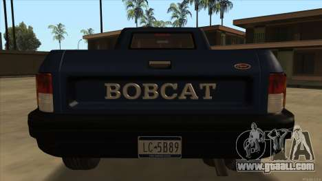 Bobcat HD from GTA 3 for GTA San Andreas right view