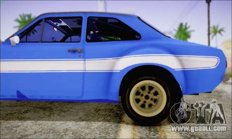 Ford Escort Mk1 RS1600 for GTA San Andreas back view