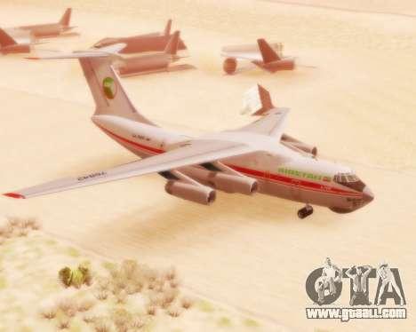 Ilyushin Il-76td for GTA San Andreas
