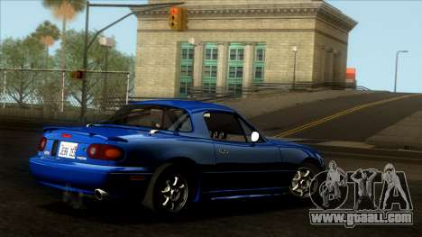 Mazda MX-5 Miata (NA) 1989 for GTA San Andreas engine