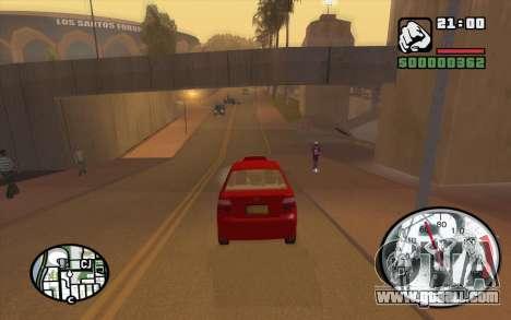 Speedometr da Rockstar for GTA San Andreas forth screenshot