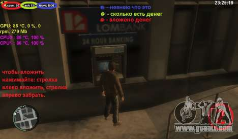 Account at an ATM for GTA 4 third screenshot