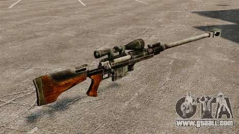 Anti-materiel rifle for GTA 4 second screenshot
