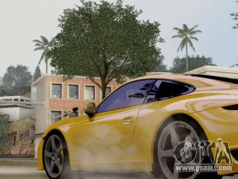 RUF RGT-8 for GTA San Andreas back left view