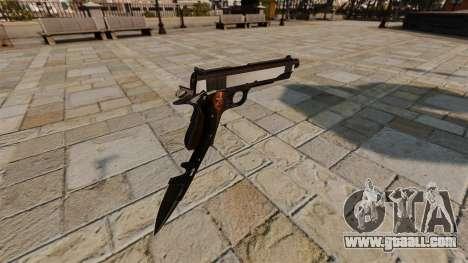 Colt 1911 pistol Knife for GTA 4 second screenshot