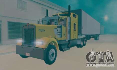 Kenworth W900L for GTA San Andreas