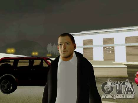 Chester Bennington for GTA San Andreas second screenshot