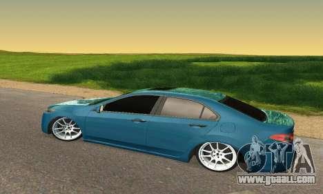 Honda Accord Tuning for GTA San Andreas back view