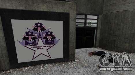 Police station, Raccoon for GTA 4 second screenshot