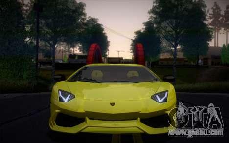 Lamborghini Aventador LP720-4 50th Anniversario for GTA San Andreas