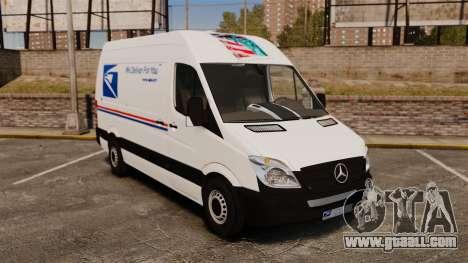 Mercedes-Benz Sprinter US Mail for GTA 4