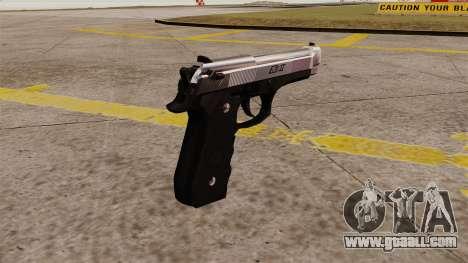 Self-loading pistol Beretta M92 for GTA 4 second screenshot