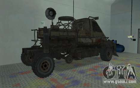 Gazelle from the Metro 2033 for GTA San Andreas right view