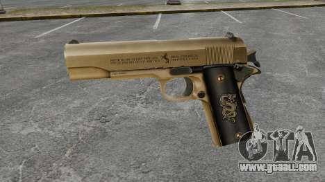 Colt M1911 pistol v2 for GTA 4 third screenshot