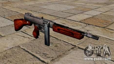 M1a1 Thompson submachine gun for GTA 4