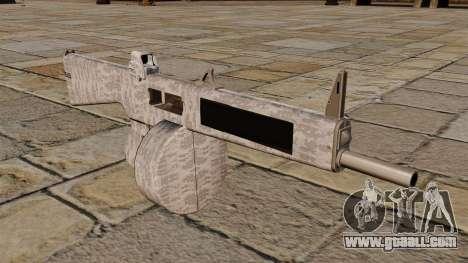 The AA-12 shotgun Winter for GTA 4