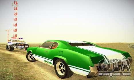 GTA IV Sabre Turbo for GTA San Andreas right view