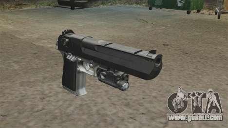 Desert Eagle Pistol MW2 for GTA 4