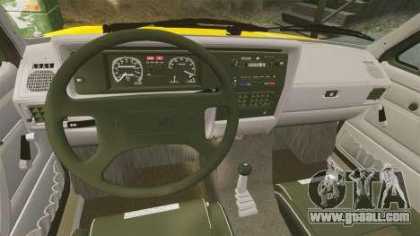 Volkswagen Caddy for GTA 4 inner view