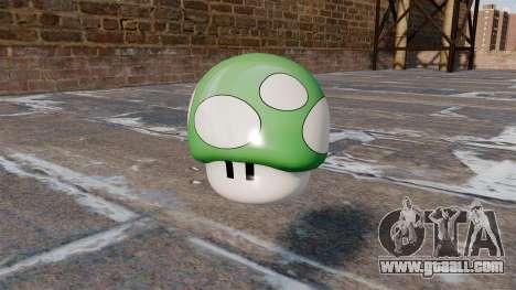 Pomegranate mushroom Mario for GTA 4