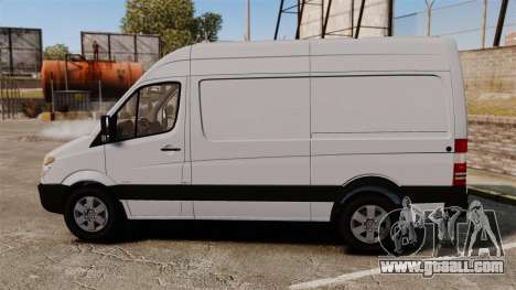 Mercedes-Benz Sprinter 2500 2011 v1.4 for GTA 4 left view