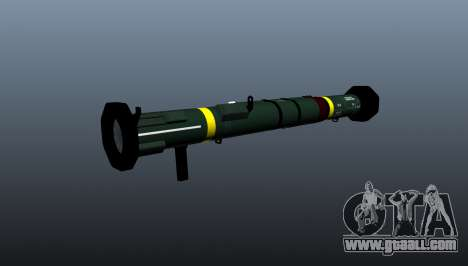 Anti-tank grenade launcher AT4 CS HP for GTA 4