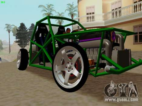 Nocturnal Motorsports Coyote for GTA San Andreas right view