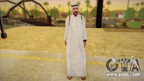 Arab Sheikh for GTA San Andreas
