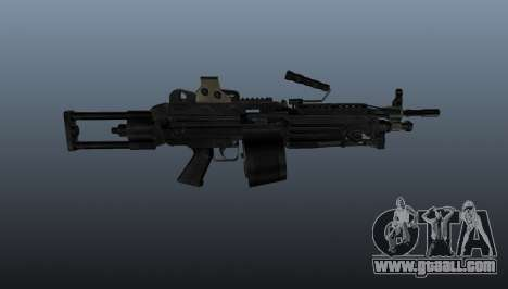 The M249 light machine gun for GTA 4 third screenshot